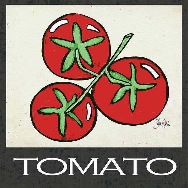 Kitchen Painting - Tomato by Shanni Welsh