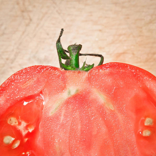 Fruit Photograph - Tomato by Tom Gowanlock