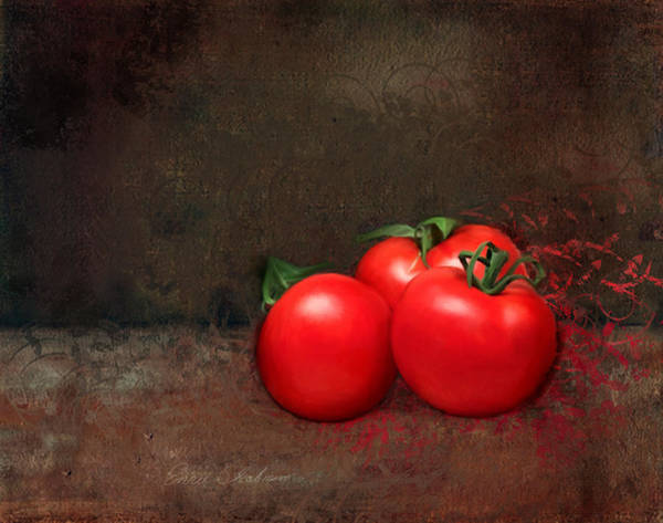 Painting - Tomato Trio by Portraits By NC