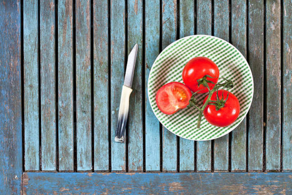 Blades Photograph - Tomatoes by Tom Gowanlock