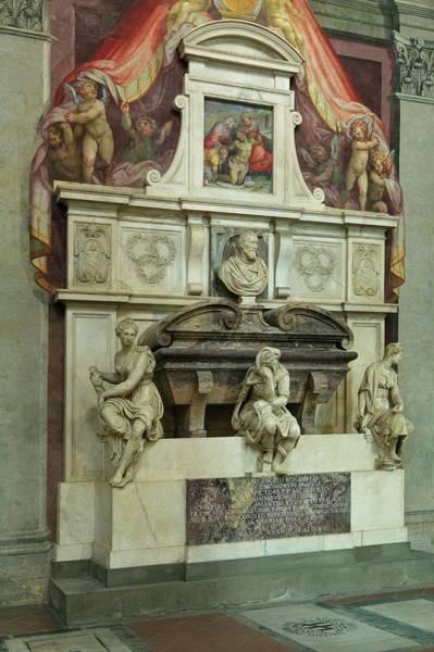 Tomb Of Michaelangelo Art Print