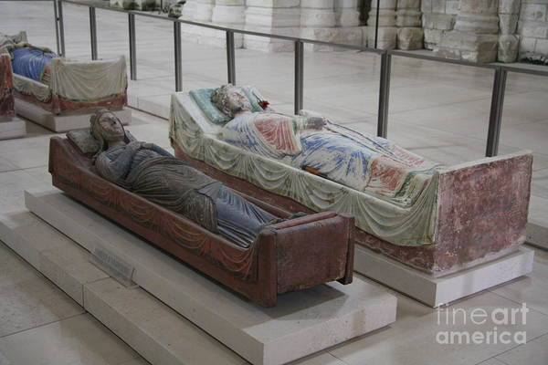 Fontevraud Photograph - Tomb Of Richard I Of England Fontevraud Abbey by Christiane Schulze Art And Photography