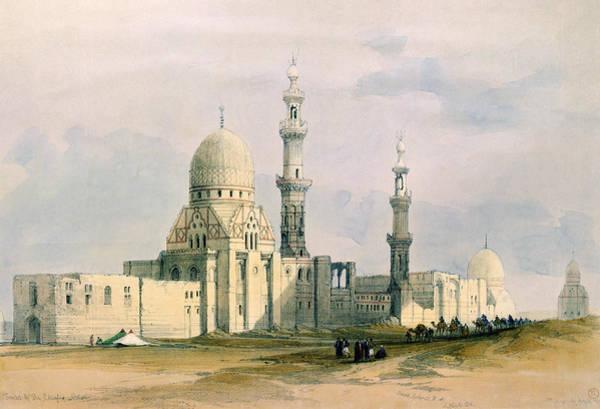 The City Drawing - Tomb Of Sultan Qansuh Abu Sa`id, 1499 by David Roberts
