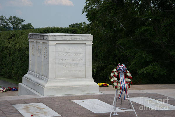 Wall Art - Digital Art - Tomb Of The Unknown Soldier by Carol Ailles