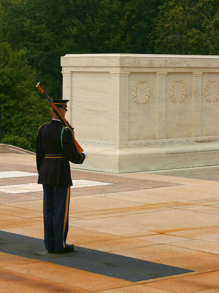 Honor Guard Photograph - Tomb Of The Unknown Soldier by Kim Hojnacki