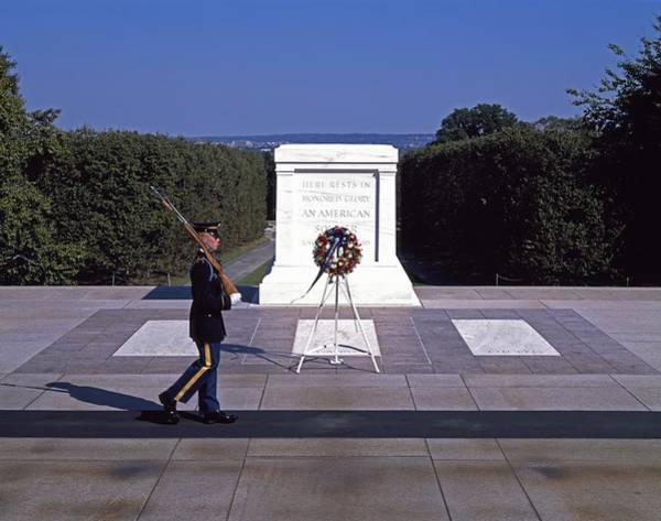 Famous Cemeteries Photograph - Tomb Of The Unknown Soldier by Mountain Dreams