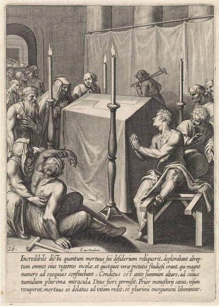 Wall Art - Drawing - Tomb Of Thomas Aquinas, Egbert Van Panderen by Artokoloro