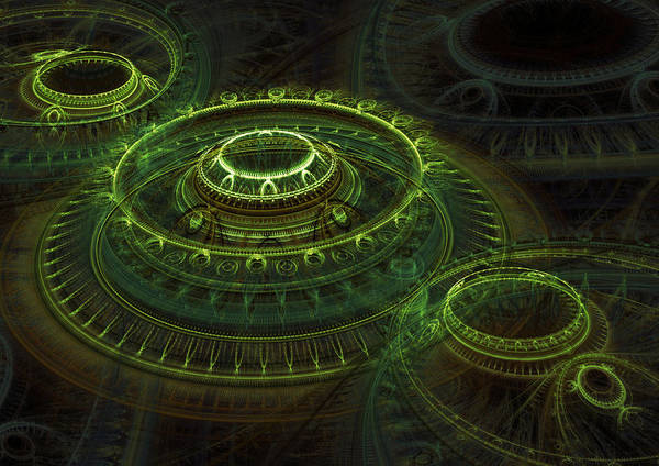 Wall Art - Digital Art - Tombs Of Time by Martin Capek
