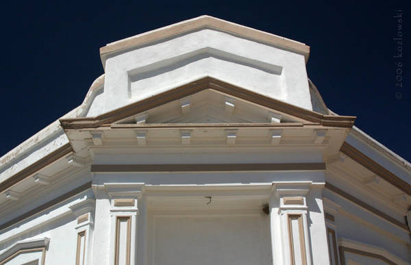Greek Revival Architecture Photograph - Tombstone Courthouse by Joe Kozlowski