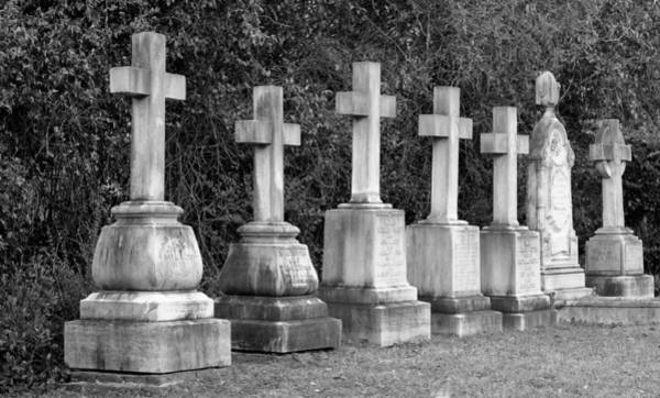 Photograph - Tombstones by Cynthia Guinn