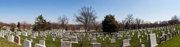 Arlington County Photograph - Tombstones In A Cemetery, Arlington by Panoramic Images