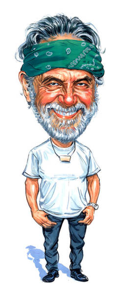 Wall Art - Painting - Tommy Chong by Art