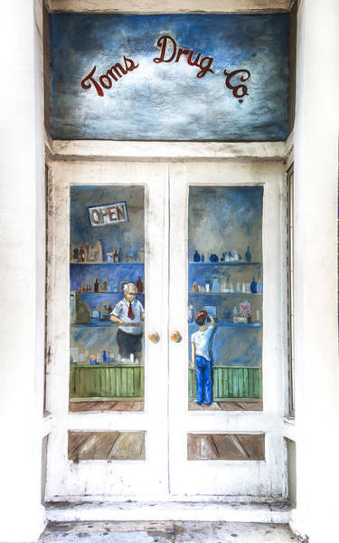Photograph - Toms Drug Store Painting - Photography By Jo Ann Tomaselli by Jo Ann Tomaselli
