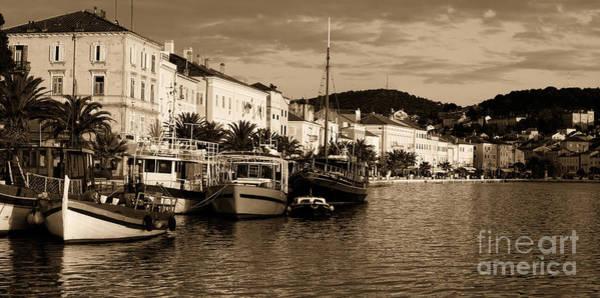 Losinj Photograph - Toned Losinj Port by Sinisa Botas