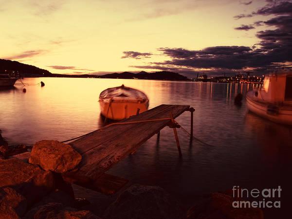 Losinj Photograph - Toned Port by Sinisa Botas