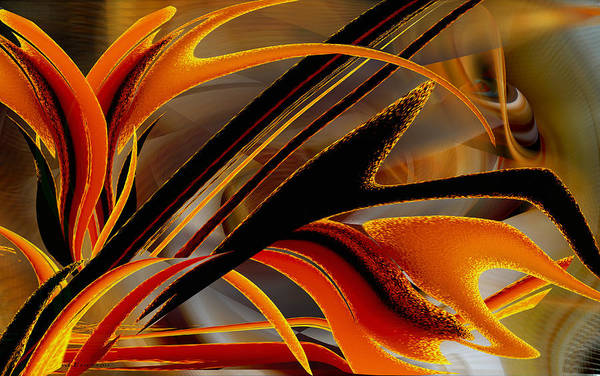 Digital Art - Tongues Of Fire by Roy Erickson