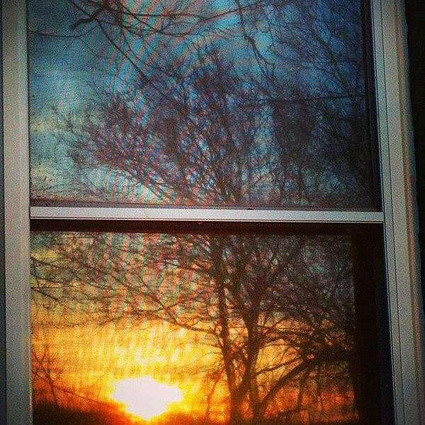 Wall Art - Photograph - Tonights Sunset Reflecting In My Window by Stephen Cooper