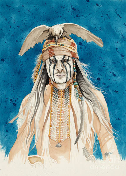 Painting - Tonto by Tish Wynne