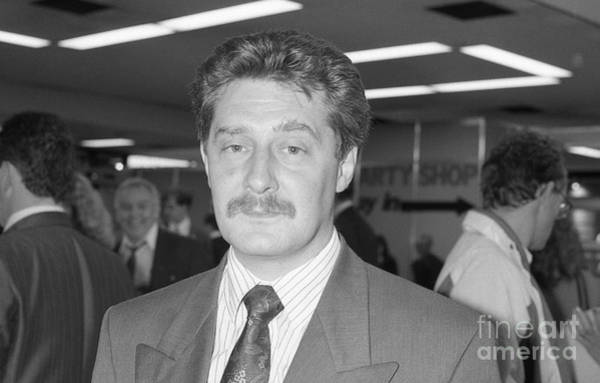 Greater Manchester Wall Art - Photograph - Tony Lloyd Police Commissioner by David Fowler