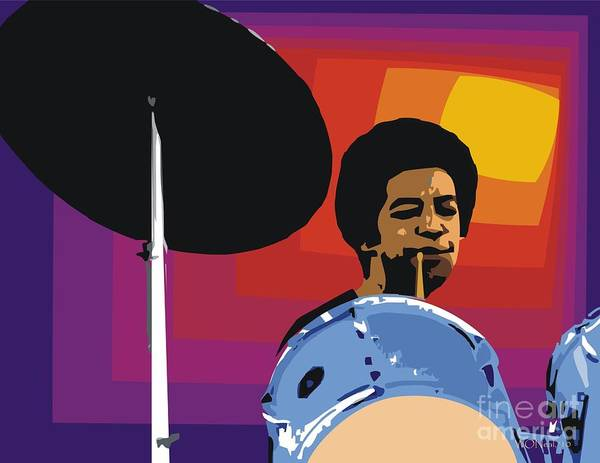 Digital Art - Tony Williams by Walter Neal