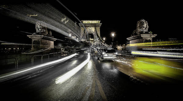 Speed Wall Art - Photograph - Too Much Traffic by Carmine Chiriac??