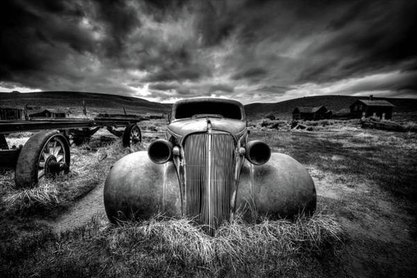 Abandon Wall Art - Photograph - Too Old To Drive by Carsten Schlipf