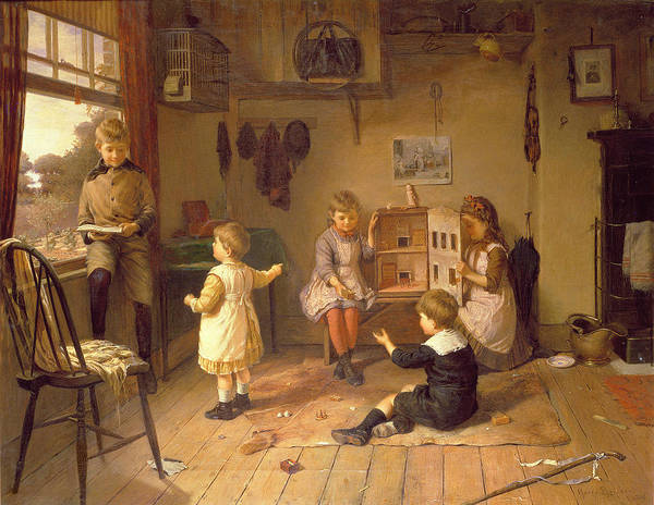 Doll House Photograph - Too Old To Play by Harry Brooker