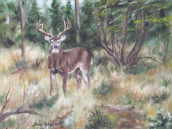 Painting - Too Tempting by Lori Brackett