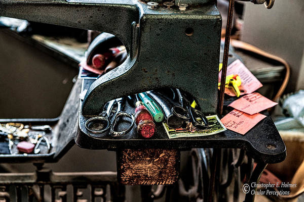 Photograph - Tools by Christopher Holmes
