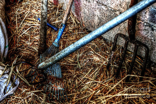 Photograph - Olde Tools Of The Trade by Doc Braham