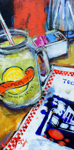 Toomer Wall Art - Painting - Toomer's Lemonade by Claire Kayser