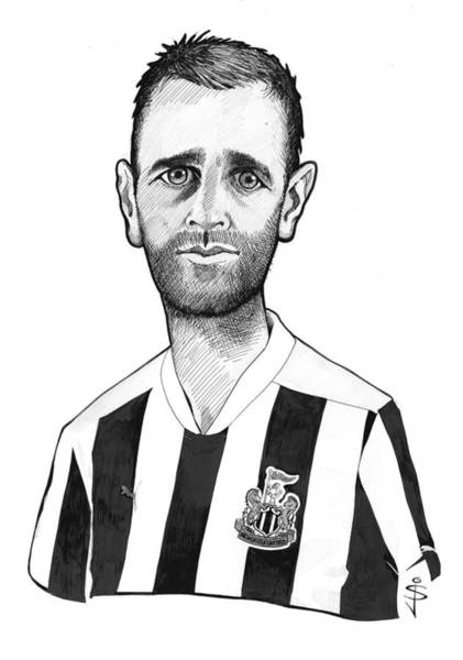 Magpies Drawing - Toon Caricature - Ryan Taylor by Jan Szymczuk