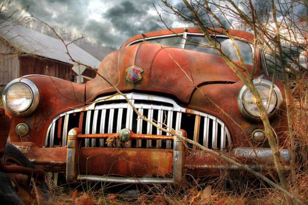Junkyard Photograph - Toothless by Lori Deiter