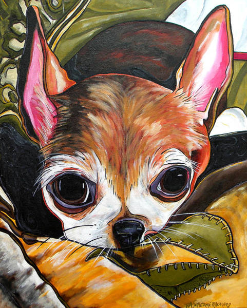 Painting - Tootie by Patti Schermerhorn