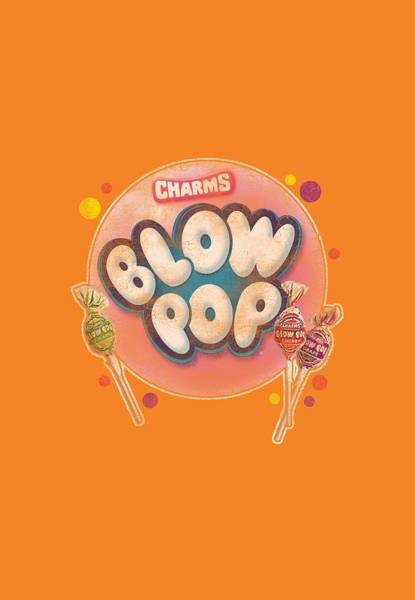 Novelty Digital Art - Tootsie Roll - Blow Pop Bubble by Brand A