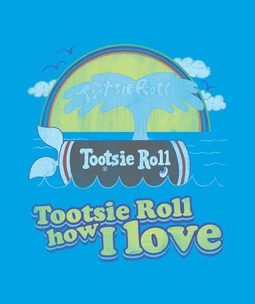 Novelty Digital Art - Tootsie Roll - Jingle by Brand A