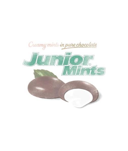 Novelty Digital Art - Tootsie Roll - Junior Mints Logo by Brand A