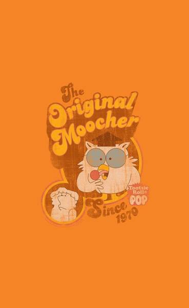 Novelty Digital Art - Tootsie Roll - Original Moocher by Brand A
