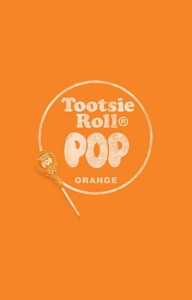 Novelty Digital Art - Tootsie Roll - Pop Logo by Brand A