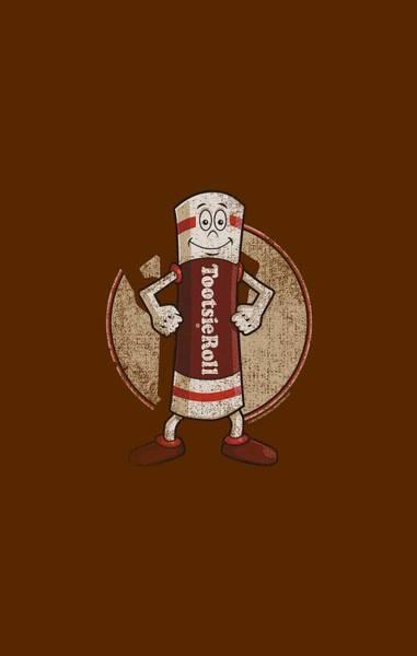 Novelty Digital Art - Tootsie Roll - Tootsie Man by Brand A