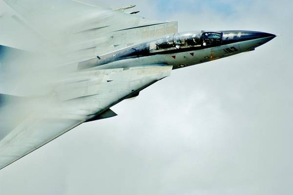 Flyby Photograph - Top Gun by Benjamin Yeager