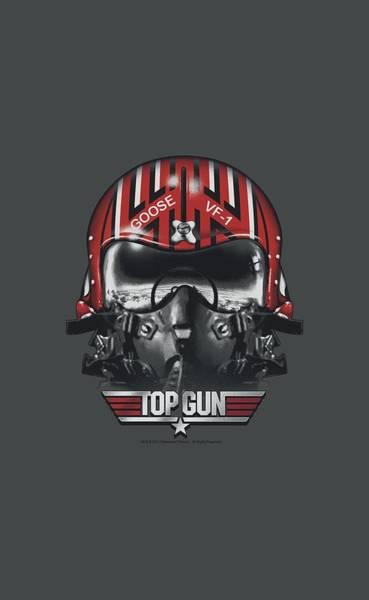 Goose Digital Art - Top Gun - Goose Helmet by Brand A