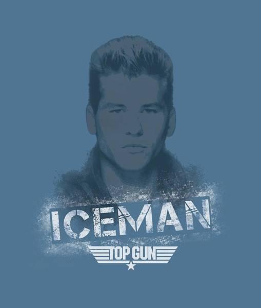 Wall Art - Digital Art - Top Gun - Iceman by Brand A