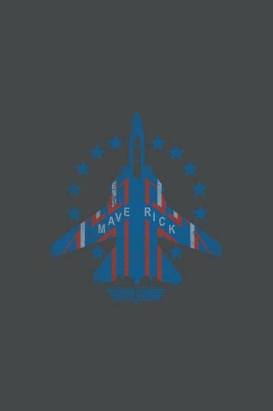 Goose Digital Art - Top Gun - Maverick by Brand A