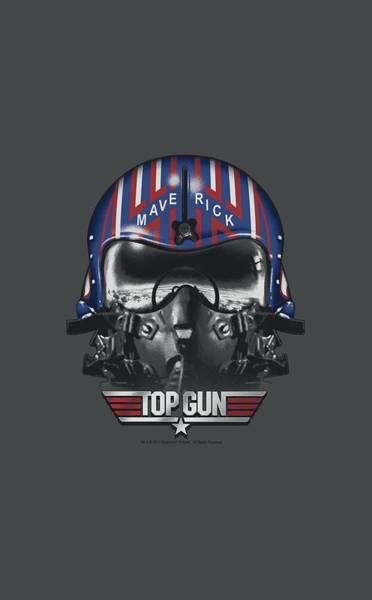 Goose Digital Art - Top Gun - Maverick Helmet by Brand A
