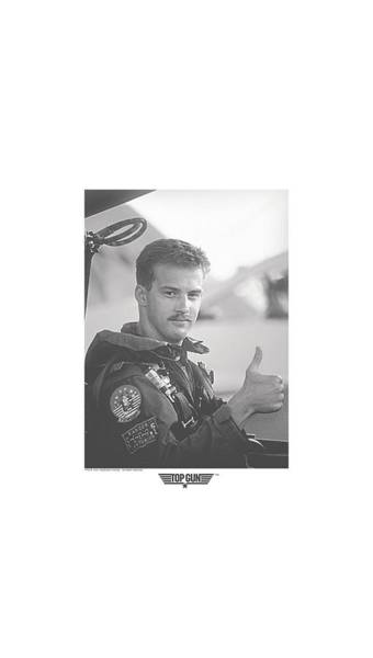 Goose Digital Art - Top Gun - My Wingman by Brand A