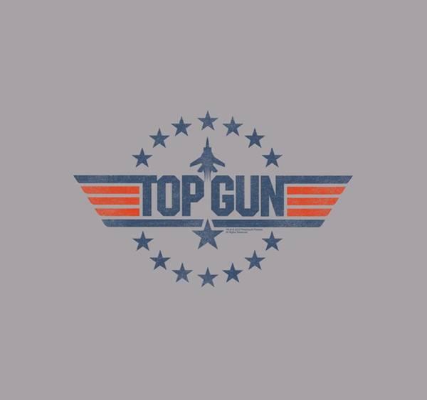 Action Digital Art - Top Gun - Star Logo by Brand A