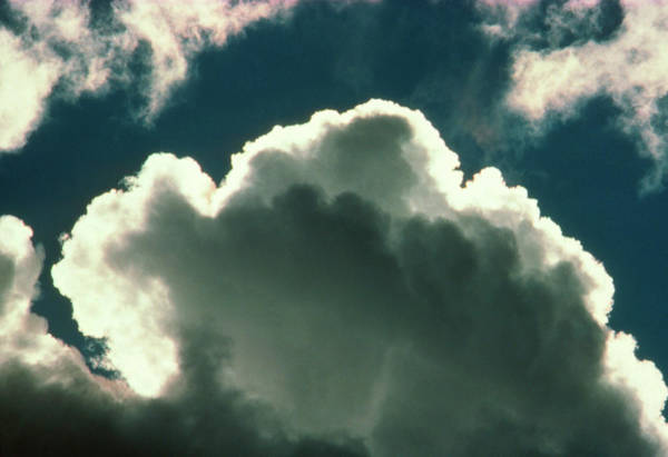 Cumulus Photograph - Top Of A Cumulus Cloud by Pekka Parviainen/science Photo Library