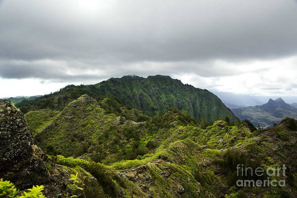Photograph - Top Of Ko'olau Mountains by Charmian Vistaunet