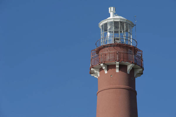 Photograph - Top Of Old Barney Barnegat Lighthouse by Terry DeLuco